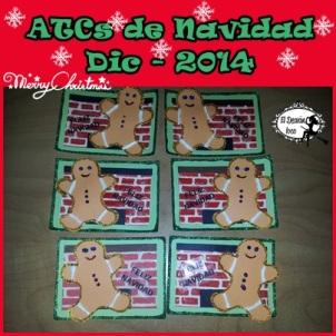 ATCs Navidad Dic 2014
