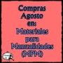 Compras Agosto en: Materiales para manualidades(MPM)